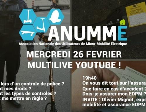 🛴 Live ANUMME : interview d'Olivier MIGNOT – Wizzas sur l'assurance EDPM / NVEI
