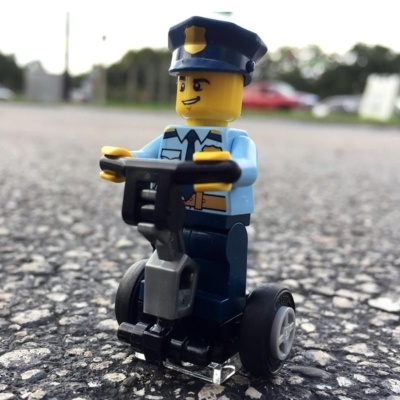 Police lego Segway